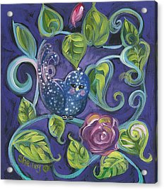 Star Birdy Acrylic Print
