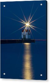 Star Bright Acrylic Print by Bill Pevlor