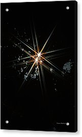 Star Bright Acrylic Print by Donna Blackhall