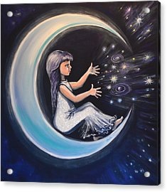Celestial Games Acrylic Print by Agata Lindquist