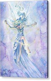 Star Dancer Acrylic Print by Sara Burrier