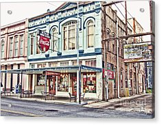 Star Drug Store - Store Front Acrylic Print by Scott Pellegrin