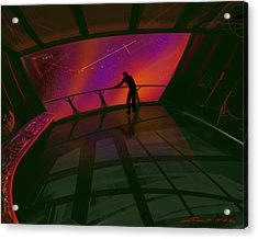 Star Gazer Acrylic Print by James Christopher Hill