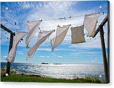 Star Island Clothesline Acrylic Print