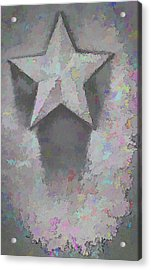 Acrylic Print featuring the photograph Star by Kristi Swift