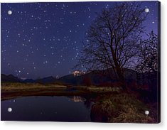 Star Light Star Bright Acrylic Print by James Wheeler