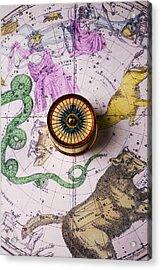 Star Map Acrylic Print by Garry Gay