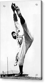 Star Pitcher Van Lingo Mungo Acrylic Print by Underwood Archives