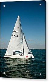 Star Sailboat Acrylic Print