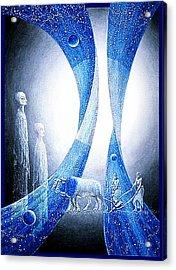 Star  Seeding Acrylic Print by Hartmut Jager