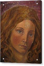 Star Sister Acrylic Print by Vera Atlantia