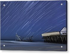 Star Spangled Acrylic Print by Mike Orso