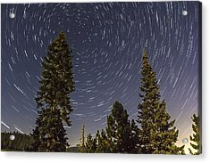 Star Trails Acrylic Print