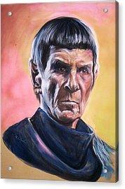 Star Trek Old Spock  Acrylic Print