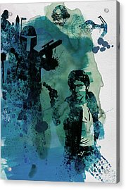 Star Warriors Watercolor 2 Acrylic Print