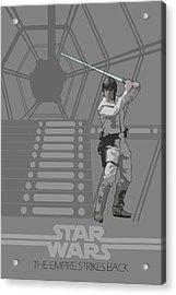 Star Wars Original Trilogy Ep 5 Acrylic Print by Edgar Ascensao
