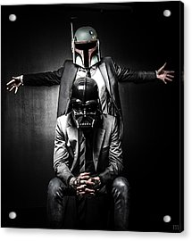 Star Wars Suit Up Acrylic Print by Marino Flovent