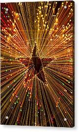 Star Zoom  Acrylic Print by Garry Gay