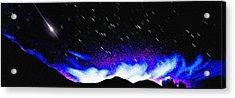 Starburst Acrylic Print by Alfredo Martinez
