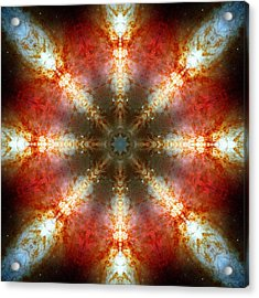 Starburst Galaxy M82 II Acrylic Print