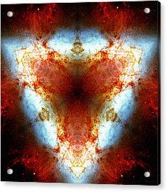 Starburst Galaxy M82 Vi Acrylic Print