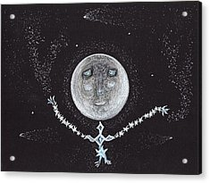 Stardust Moon Acrylic Print by Jim Taylor