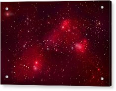 Starfield No.122912b Acrylic Print by Marc Ward