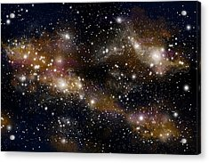 Starfield No.31314 Acrylic Print by Marc Ward