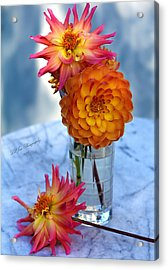 Starfire Acrylic Print by Jeanette C Landstrom