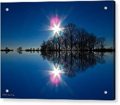 Starflection Acrylic Print