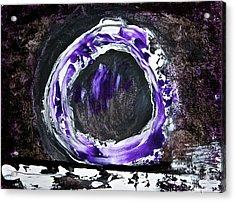 Acrylic Print featuring the painting Stargate by Tracey Myers