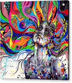 Stargaze Acrylic Print by Callie Fink