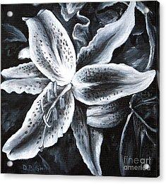 Stargazer Lilly Acrylic Print