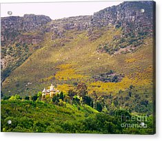 Stark Conde Wine Estate Stellenbosch South Africa 2 Acrylic Print by Charl Bruwer