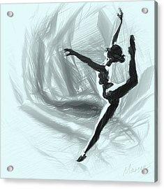 Starlet Acrylic Print by Marina Likholat