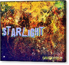 Starlight Acrylic Print by Currie Silver
