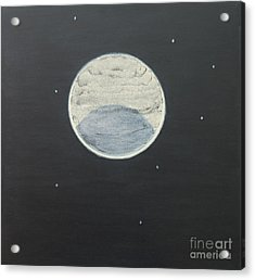 Acrylic Print featuring the painting Starlight by Mini Arora