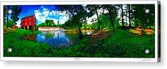 Starrs Mill 360 Panorama Acrylic Print by Lar Matre
