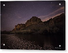 Starry Eyed Acrylic Print by Bill Cantey