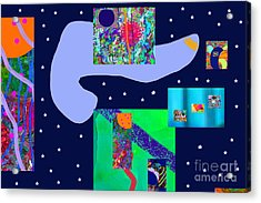 Starry Night Dreams Acrylic Print
