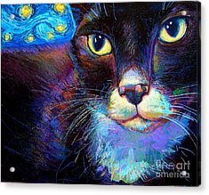 Starry Night Jack Acrylic Print by Robert Phelps