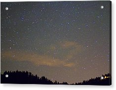 Starry Night Acrylic Print by James BO  Insogna