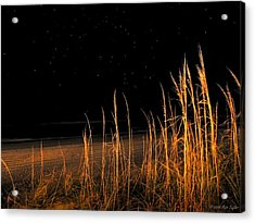 Starry Night Over The Atlantic Acrylic Print