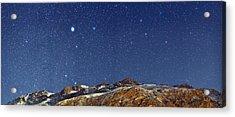 Starry Night Acrylic Print by Babak Tafreshi