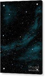 Stars And Cloud Acrylic Print by Atiketta Sangasaeng