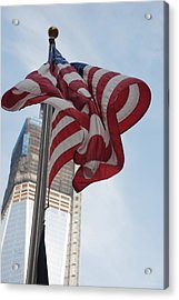 Stars And Stripes And 1 W T  C Acrylic Print by Rob Hans