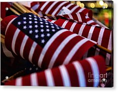Acrylic Print featuring the photograph Stars And Stripes by John S