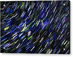 Stars In The Night Sky Abstract 2 Acrylic Print by Sharon Talson