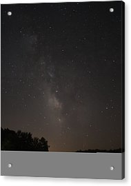 Stars On Lake Logan Acrylic Print