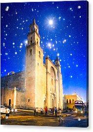 Stars Shine On Merida Acrylic Print by Mark Tisdale